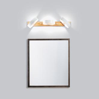 Светильник для ванной, зеркала белый