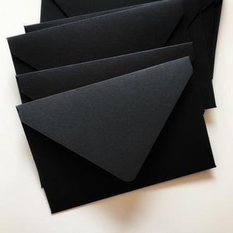 Конверт кольоровий в асортименті (black)
