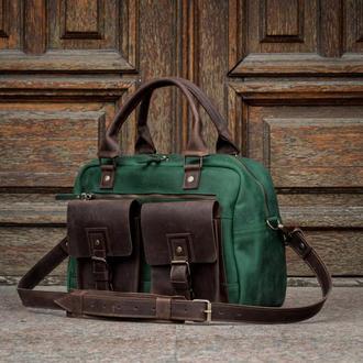 Деловая мужская сумка, Саквояж для ручной клади
