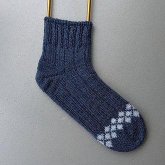 Шкарпетки в'язані ручної роботи