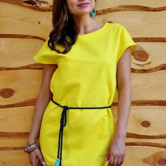 Женское платье с вышивкой П04-241