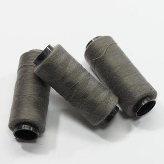 Нитки для шитья серый 250 м