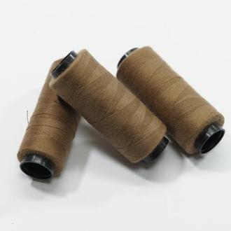 Нитки для шитья коричневый 250 м