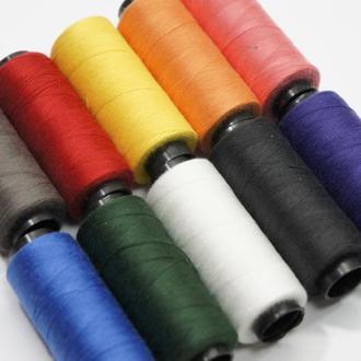 Набор ниток для ручного шитья 10 штук