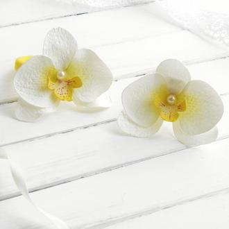 Резинки для волос Орхидеи