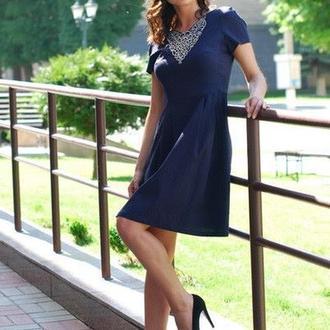 Женское платье-вышиванка П10-291