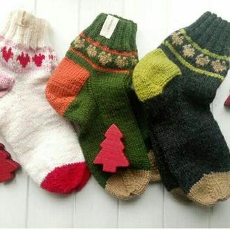 Чудные теплые носочки