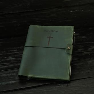 Кожаный блокнот с гравировкой