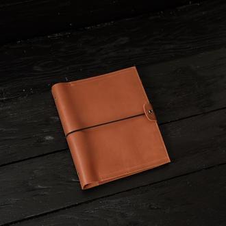 Кожаный блокнот ежедневник