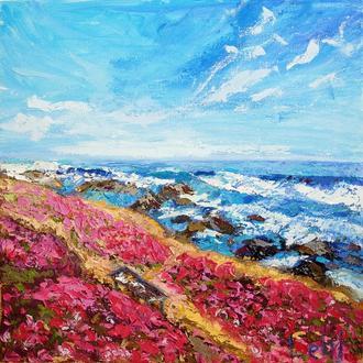 Современный морской пейзаж: Цветущая Калифорния, Монтерей
