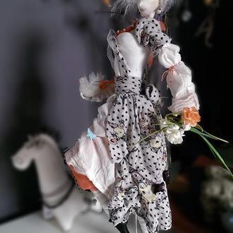 """Авторская интерьерная кукла """"Весна"""""""