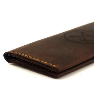 """Портмоне """"Breast Wallet"""" - классический мужской кошелёк, лопатник, бумажник, натуральная кожа"""
