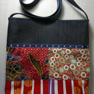 Мини-сумка пэчворк