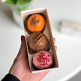 Марципани натуральні в бельгійському шоколаді