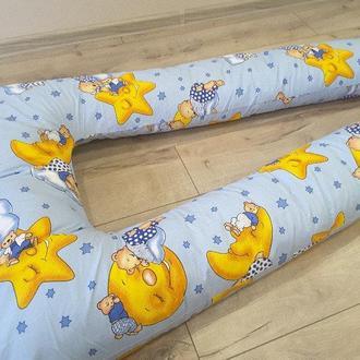 Подушка для беременных U(П)-380см(факт.высота-170см)