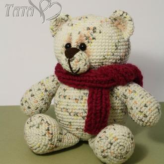 Мишка  Медвежонок крючком Амигуруми Интерьерная игровая игрушка Подарок ребенку