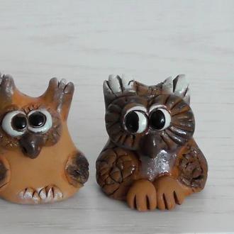 """Фигурки """"Две совы"""""""