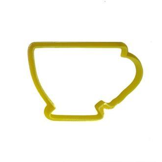 """3D формочки-вырубки для пряников """"Чашка"""""""