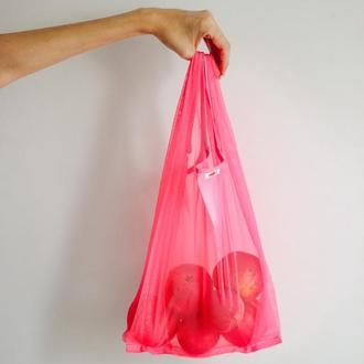 Супер удобная и вместительная пакет маечка, замена пакетам, это мешочек для шопинга  Киев