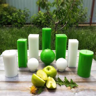 Набір Інтер'єрних свічок з ароматом яблука!
