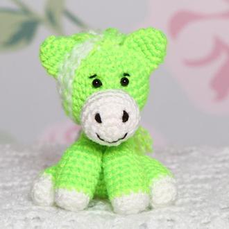 Лошадка принцесса зелёная