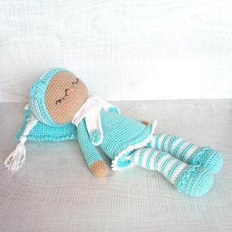 Кукла  Сплюшка вязаная ручной работы