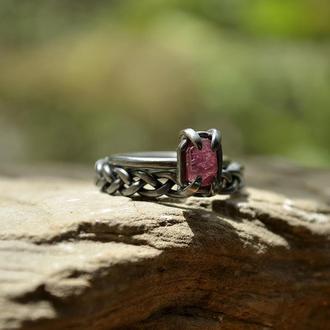 пара колец Розовый венок