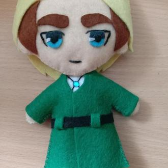 Мягкая игрушка из фетра (аниме, комиксы, фильмы, мультфильмы,