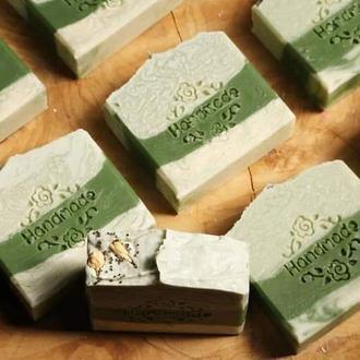 Мыло с нуля «Зелёный чай»