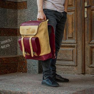 Спортивный кожаный рюкзак, Рюкзак для путешествий
