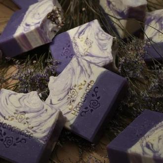 Шелковое мыло с нуля «Лаванда»