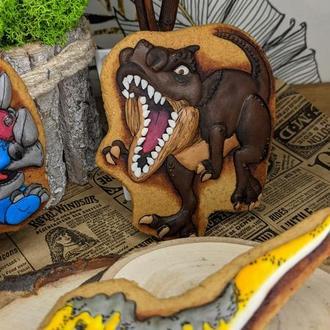 Пряники динозавр