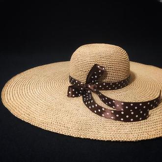 Шляпка с большими полями, шляпа