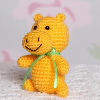 Бегемотик маленький жёлтый