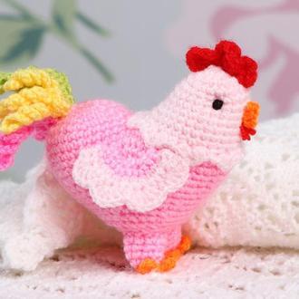 Петушок розовый