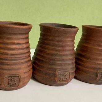 Вазы глиняные набор, Вазы из глины, Горшок из глины