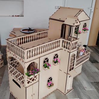 Большой дом для кукол. Домик для кукол Барби