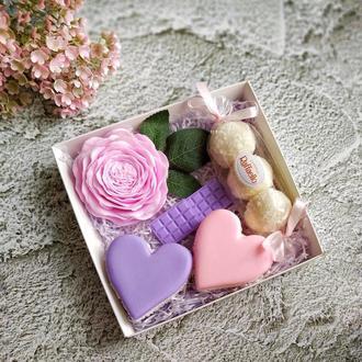 """Набор мыла  """"Цветы и сладости""""🌹🍡🍥"""