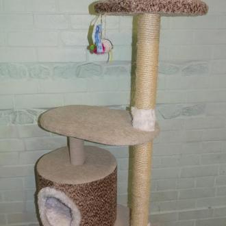 Когтеточки, игровые комплексы для котов.