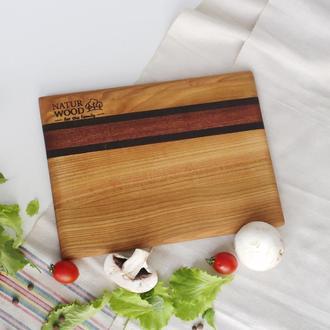 Деревянная разделочная доска Naturwood 30*22*1.5 см