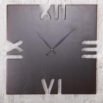 """Настенные часы """"Wooden Rim 60cm"""" из дерева премиальных пород"""