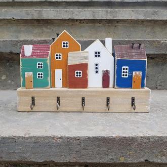Ключница настенная ′Древний град′ - Ключница для дома