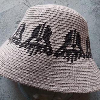Шляпа панама унисекс