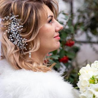 Комплект свадебных украшений, украшения для невесты, свадебный набор