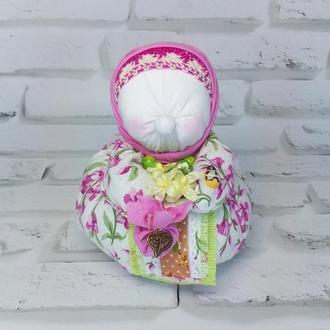 Кукла мотанка бабушка травница Здоровушка, оберег семьи, дома, здоровья.