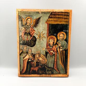 Икона православная Рождество Христово