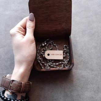 Коробка для подарка с именной гравировкой. Упаковочная коробочка на подарок.