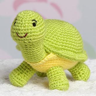 Черепаха зелёная