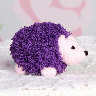 Ёжик маленький фиолетовый