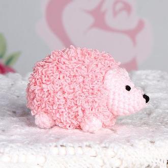 Ёжик маленький розовый